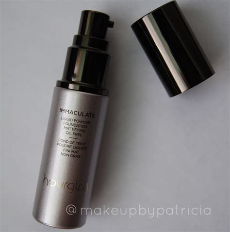 immaculate hair grease makeup by patricia hourglass immaculate liquid powder