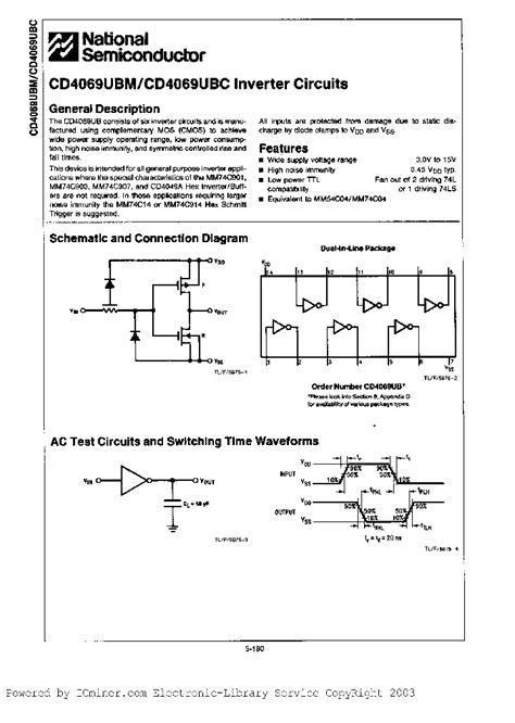 transistor b817c datasheet cd4069cna 863838 pdf datasheet ic on line
