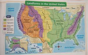 map of mountain ranges in the united states mrs ranney s classroom geography of the u s a