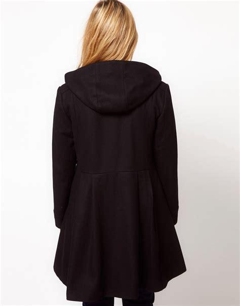 swing duffle coat asos curve asos curve exclusive swing duffle coat at asos