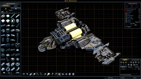 ship designer galactic civilizations ship designer