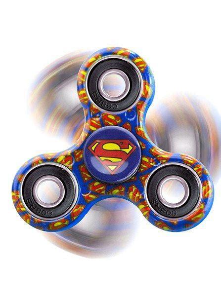 Fidget Spinner Superman Spinner Fidget Toys quot superman quot fidget spinner blue inked shop