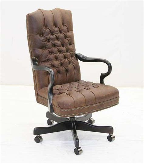 Western Office Furniture by Tufted Leather Executive Chair Western Office Furniture