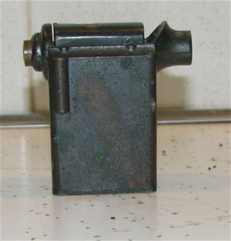 antique negbaur ny lighter brass flip top 1920 30