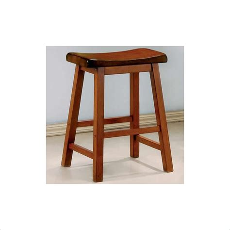oak wood bar stools 24 inch wooden bar stool in oak 180049