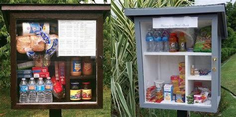 Neighborhood Food Pantries by Free Pantries Spread Goodies From Sidewalks Let Neighbors Pay It Forward