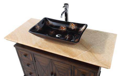 bathroom vanity vessel sink top contemporary style
