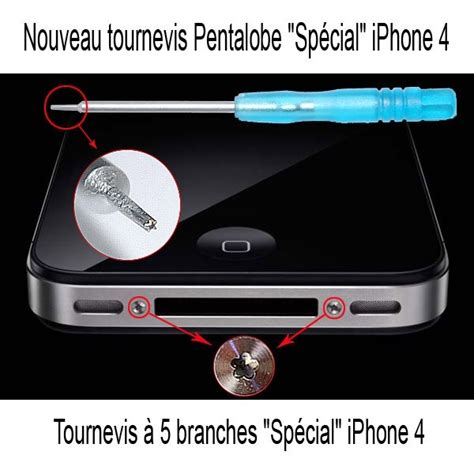 Obeng Pentalobe Iphone 4 tournevis pour d 233 montage iphone ipod ou autres