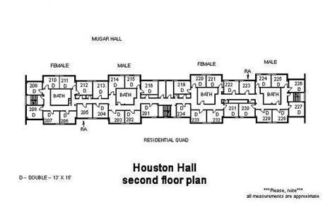 carmichael tufts floor plan houston medford massachusetts dormitory
