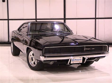 1968 dodge charger auto car