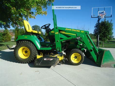 Garden Tractor With Loader by Deere Garden Tractor Loader Car Interior Design