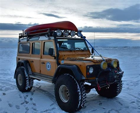 land rover iceland supertrucks of iceland land rover defender ploughs