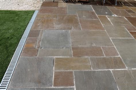 Patio Drainage Channel by Sheffield Landscaper Gallery Patios Decking Ponds Fencing