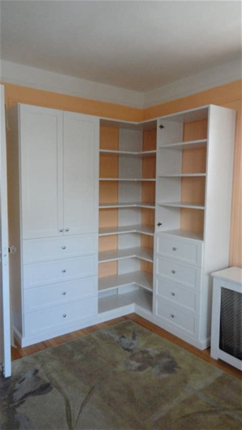 Closet Corner Unit by Corner Wall Unit Closet New York By