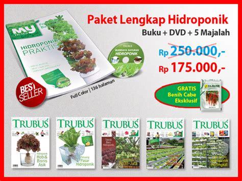 Paket Buku By Toko Trubus Id promo paket lengkap hidroponik trubus