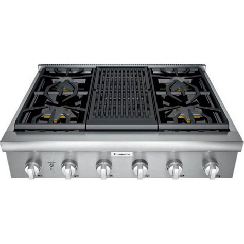 thermador professional  built  gas cooktop