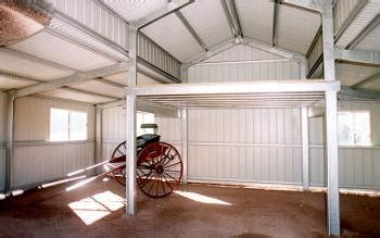 Shed With Mezzanine by Mezzanine Floors Clarence Valley Sheds