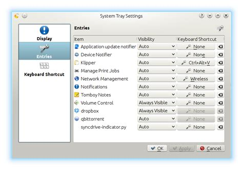 dropbox not in system tray kde the ultimate desktop 171 practica technical