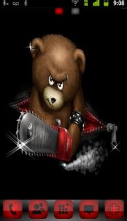 mobile themes horror download horror teddy killer android theme htc theme