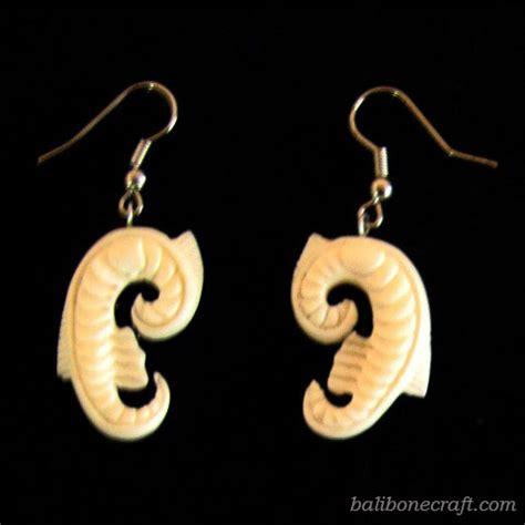 Earing Anting Bunga bone earring
