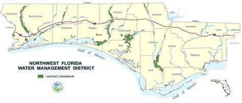 northwest florida water management district map land acquisition northwest florida water management district