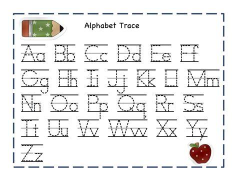 printable alphabet tracing book alphabet worksheets for preschoolers preschool