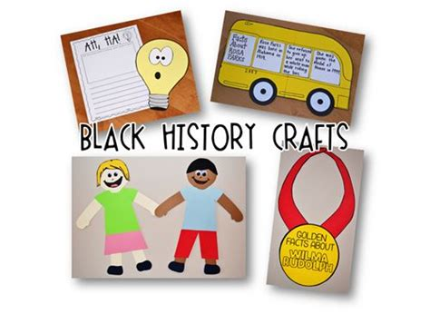 black history crafts for black history month crafts events