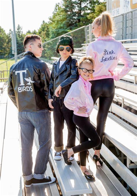 kids grease  birds jacket costume