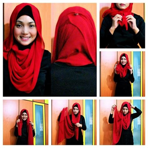 tutorial hijab new latest hijab style designs tutorials 2016 2017 with pictures