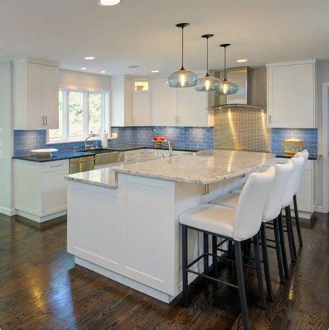 bar height kitchen island   Kitchen   Pinterest   Kitchens