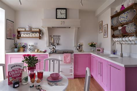 pink kitchen ideas pink kitchens