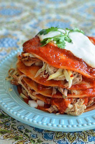 chipotle shredded pork enchiladas them am and i am