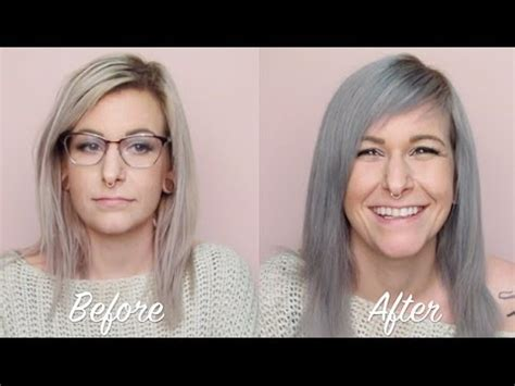 how to color hair silver using pravana color first impressions silver by pravana by tashaleelyn