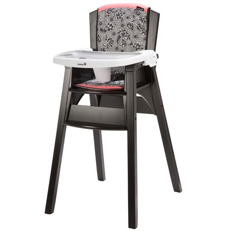 Safety High Chair by Upc 884392597412 Safety 1st Decor Wood High Chair