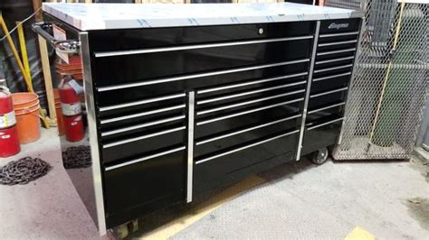 snap on tool bench triple bank snap on tool box stainless bench tools