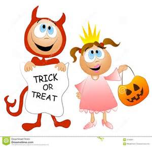 Halloween Costumes For Kids Cute Halloween Trick Or Treaters Clipart 46