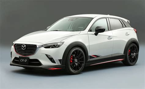 mazda x3 tuned mazda models revealed ahead of tokyo auto salon