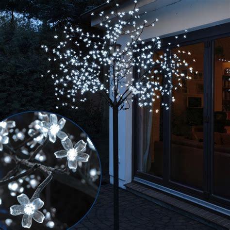 Eclairage Arbre Exterieur by Arbre Lumineux Cerisier 2m50 600 Led Blanc Froid