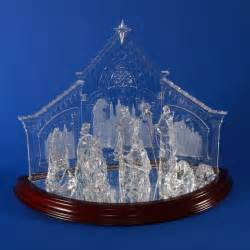 this elegant ten piece nativity is made from the highest