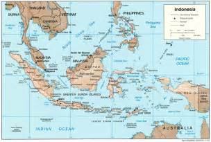 Indonesia Map World by Indonesia