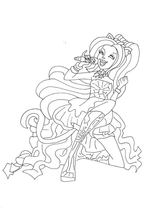 monster high dog coloring pages 1000 images about coloring pages on pinterest coloring