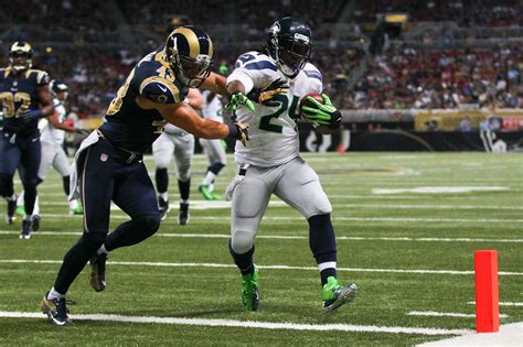 st louis rams division seahawks lose division contest with rams 19 13