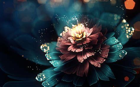 hd digital digital flower wallpaper 3d and abstract wallpaper better