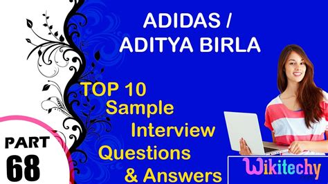 In Aditya Birla For Mba Freshers by Adidas Aditya Birla Most Questions And Answers