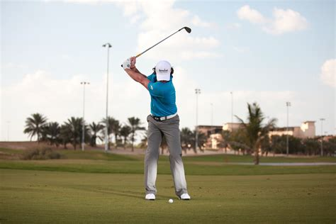 best golf swing video rory mcilroy pitching tips golf monthly