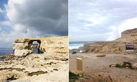 azure window before and after 10 of the best sea arches to visit before it s too late