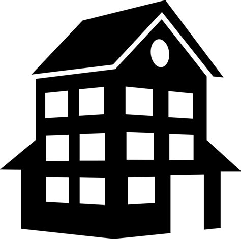 Haus Icon by House Building Svg Png Icon Free 66625