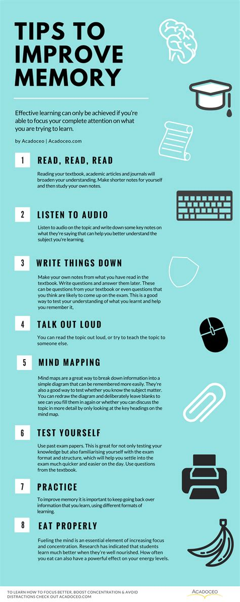 complete guide to memory mastery organizing developing the power of your mind books tips to improve your memory infographic e learning