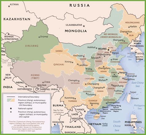 political map of china ezilon maps political map of china in english my blog