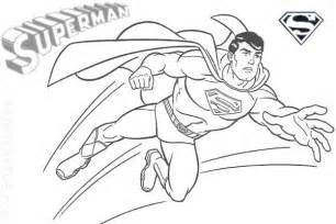 free printable superman quot super hero quot flying coloring pages